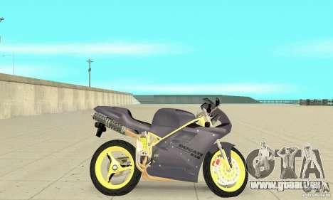 Ducati 916 pour GTA San Andreas sur la vue arrière gauche