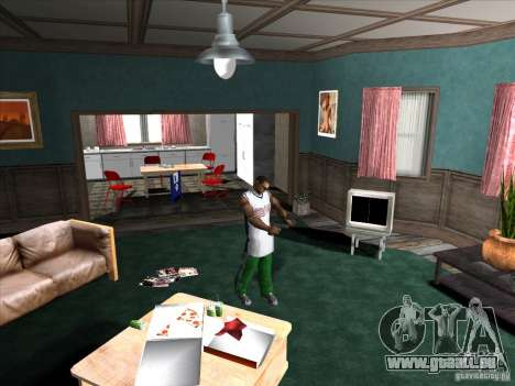 Vis/Dévisser le silencieux pour GTA San Andreas quatrième écran