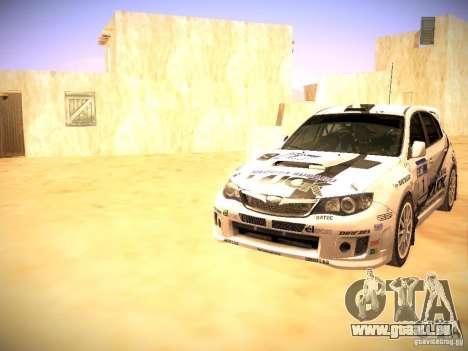 Subaru impreza Tarmac Rally für GTA San Andreas Motor