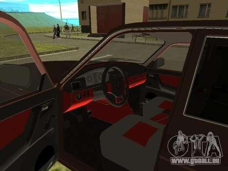 Volga GAZ 3110 für GTA San Andreas Rückansicht