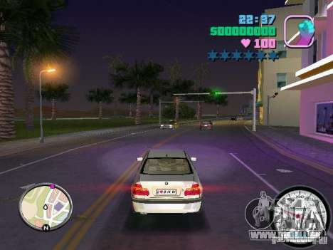 Tachometer für GTA Vice City zweiten Screenshot