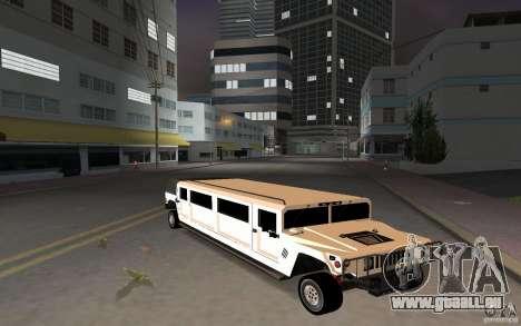 HUMMER H1 limousine für GTA Vice City linke Ansicht