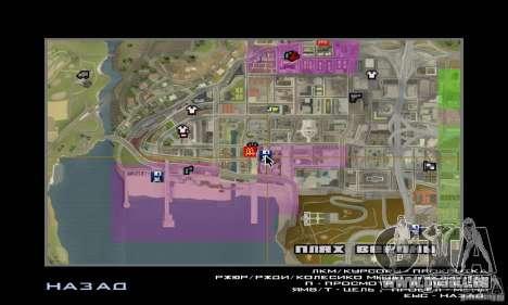 Nouvelles textures intérieur de maisons sûres pour GTA San Andreas quatrième écran