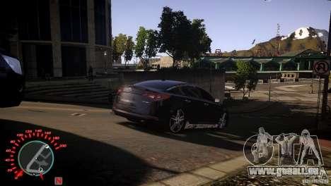 Kia Optima Dub pour GTA 4 Vue arrière de la gauche