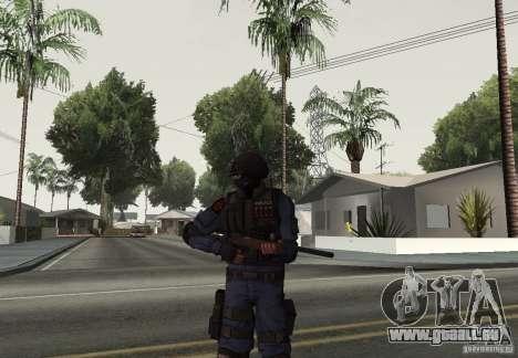 Fusil de GTA IV pour GTA San Andreas deuxième écran
