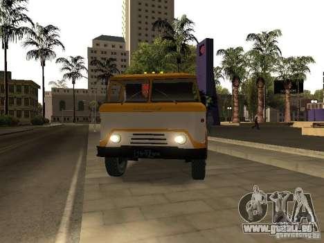 KAZ 608 pour GTA San Andreas vue de droite