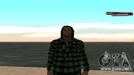 New skin Grove HD pour GTA San Andreas