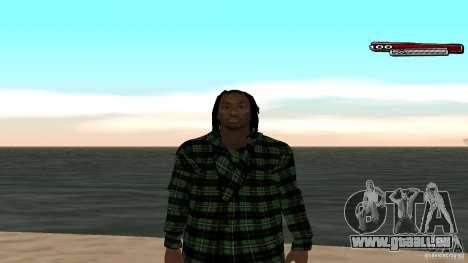 New skin Grove HD für GTA San Andreas