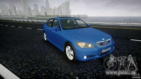 BMW 3-Series Unmarked [ELS] für GTA 4 rechte Ansicht