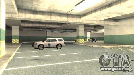 San Fierro Police Station 1.0 für GTA San Andreas her Screenshot