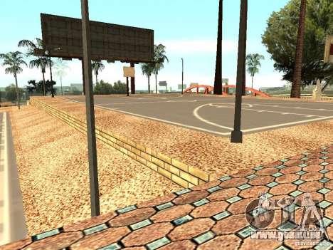 Le nouveau terrain de basket à Los Santos pour GTA San Andreas septième écran
