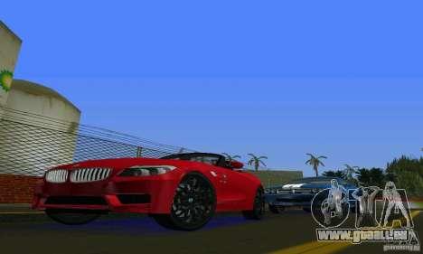 BMW Z4 V10 2011 pour une vue GTA Vice City de la gauche