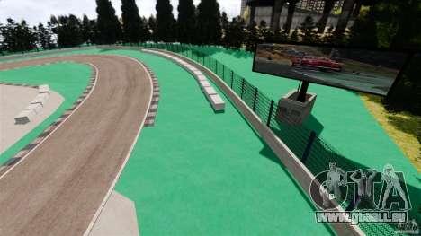 Ebisu Circuit pour GTA 4 troisième écran