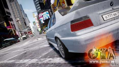BMW 318i Light Tuning v1.1 pour GTA 4 Salon