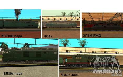 Chemin de fer II mod pour GTA San Andreas