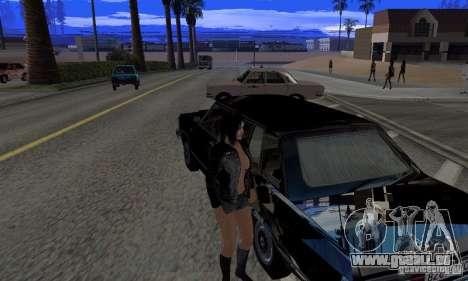 Sparkle absolue pour GTA San Andreas troisième écran