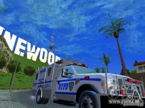 Ford F350 REP Truck pour GTA San Andreas vue de droite