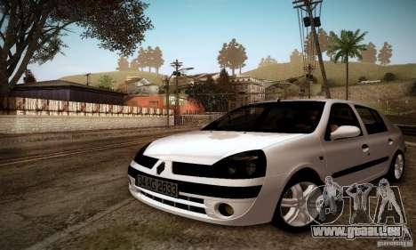 Renault Clio Sedan für GTA San Andreas