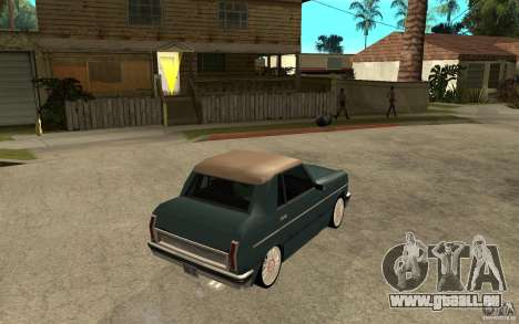 Perenial Coupe für GTA San Andreas rechten Ansicht