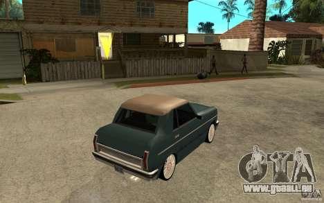 Perenial Coupe pour GTA San Andreas vue de droite