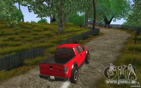 Ford F150 SVT RapTor für GTA San Andreas Innenansicht