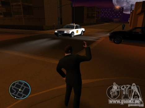 Taxi mod pour GTA San Andreas deuxième écran
