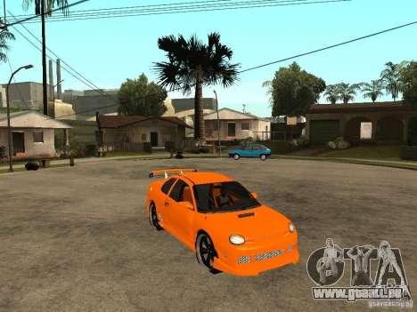 Dodge Neon pour GTA San Andreas vue de droite