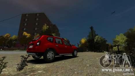 Dacia Duster SUV 4x4 2010 für GTA 4 rechte Ansicht
