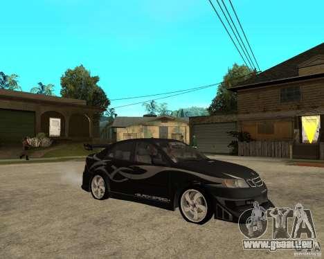 Saab 9-3 von GM Rally Version 2 für GTA San Andreas rechten Ansicht