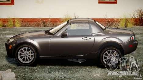 Mazda MX-5 pour GTA 4 est une vue de l'intérieur