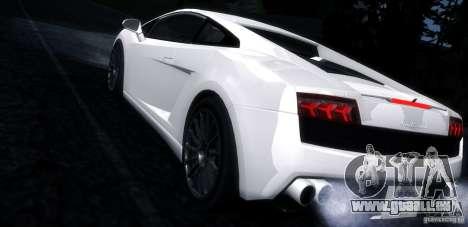 Lamborghini Gallardo LP560-4 pour GTA San Andreas laissé vue