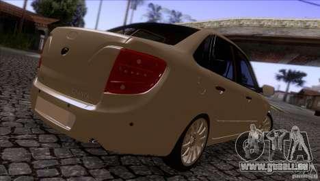 VAZ 2190 Granta pour GTA San Andreas vue de droite