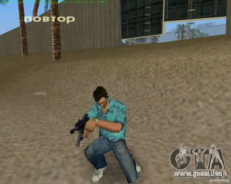 M4 von Counter Strike Source für GTA Vice City Screenshot her