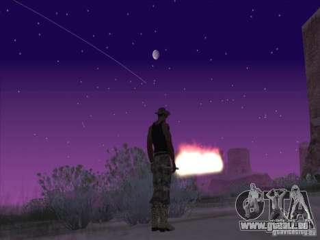 Épée de feu pour c Jay pour GTA San Andreas deuxième écran