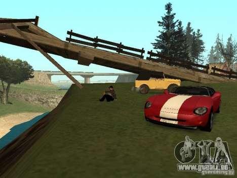 Une promenade à retenir pour GTA San Andreas deuxième écran