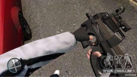 FN P90 für GTA 4