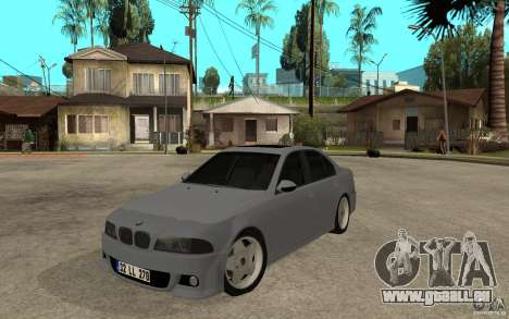 BMW 523i CebeL Tuning pour GTA San Andreas