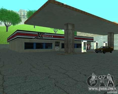 Nouveau Xoomer. nouvelle station-service. pour GTA San Andreas deuxième écran