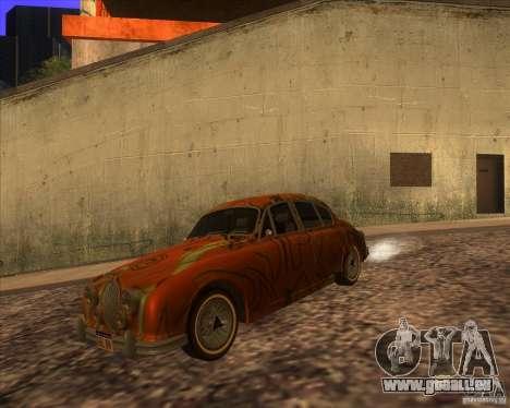 Jaguar MK2 1959-1967 pour GTA San Andreas laissé vue