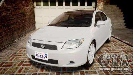 Toyota Scion tC 2.4 Stock für GTA 4