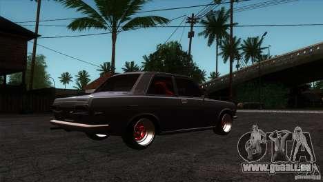 Nissan Datsun 510 pour GTA San Andreas vue de droite