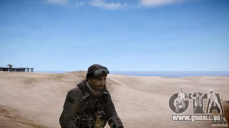Prix capitaine de COD MW3 pour GTA 4 secondes d'écran