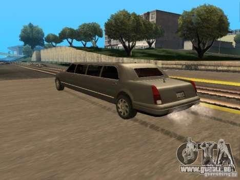 HD Stretch pour GTA San Andreas laissé vue