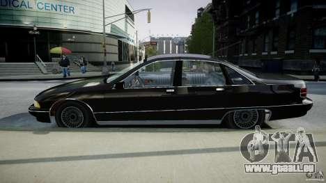Chevrolet Caprice FBI v.1.0 [ELS] pour GTA 4 est une vue de l'intérieur