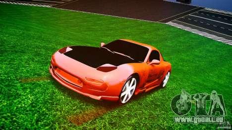 Mazda RX-7 ProStreet Style für GTA 4 Rückansicht