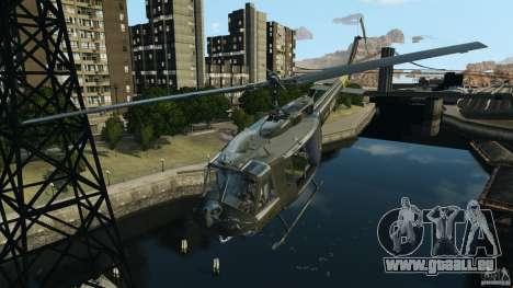 Bell UH-1 Iroquois für GTA 4 Innen