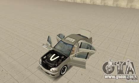 Mercedes-Benz S65 AMG 2004 pour GTA San Andreas vue arrière