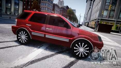 Ford EcoSport für GTA 4 linke Ansicht