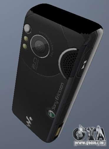 Sony Ericsson W610i pour GTA San Andreas deuxième écran