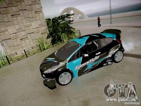 Ford Fiesta RS für GTA San Andreas Innenansicht